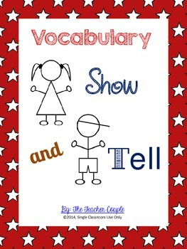 Vocabulary Show and Tell