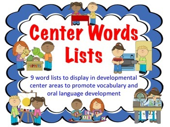 Vocabulary Signs For Developmental Centers