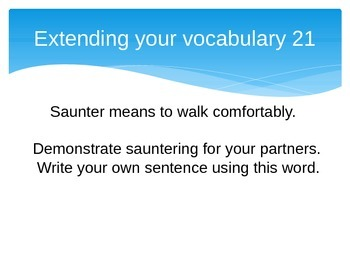 Vocabulary Skill and Strategy Warm-Ups (Set 2)