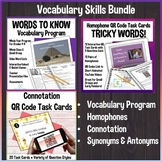 Vocabulary Skills Bundle - Homophones, Connotation, Vocabu