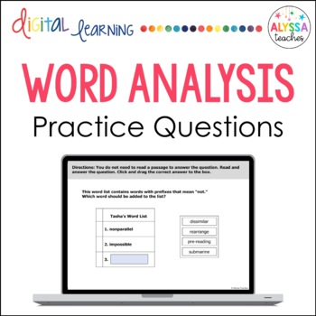 Word Analysis Skills SMARTBoard TEI Review (SOL 4.4)