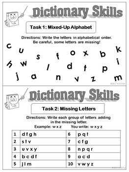Vocabulary Skills Task Cards Bundle Set!