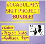 Vocabulary Skit Project Bundle!