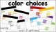 Vocabulary Slide Templates EDITABLE!