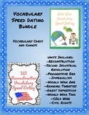 Vocabulary Speed Dating Bundle US History Reconstruction-P