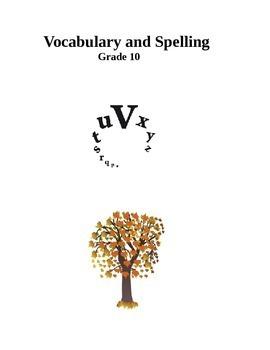 Vocabulary - Spelling -Grade 10- level 2
