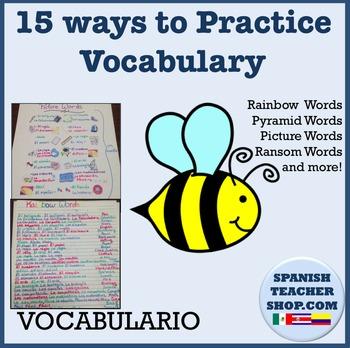 Vocabulary / Spelling Practice