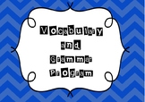 Vocabulary/Spelling and Grammar Program