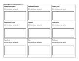 Vocabulary Squares for Experimental Design