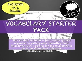 Vocabulary Starter Pack