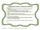 Vocabulary Station Task Cards