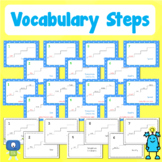 Vocabulary Steps   Distance Learning