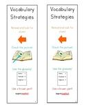 Vocabulary Strategies Bookmark