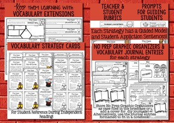 Vocabulary Strategies Detective Academy with Context Clues, Inferences & More