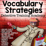 Vocabulary Strategies Bundle: Context Clues & Vocabulary Graphic Organizers