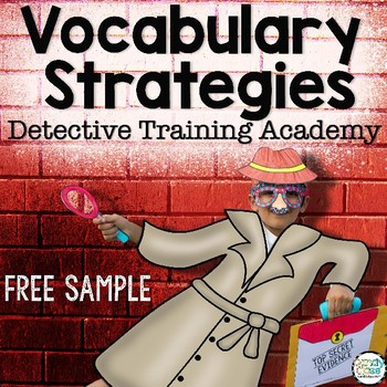 Vocabulary Strategies Free Sample: Case of the Repeating Parrot