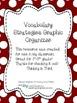Vocabulary Strategies Graphic Organizer