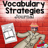 Vocabulary Strategies Journal