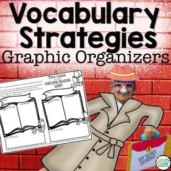 Vocabulary Graphic Organizers (No Prep or Make a Vocabulary Journal)