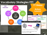 Vocabulary Strategies PPT:  Context clues, multiple meaning words & more!