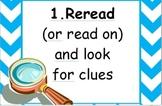 Vocabulary Strategies Poster Set