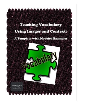 Vocabulary Strategies Template