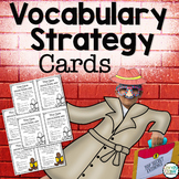 Vocabulary Strategy Cards