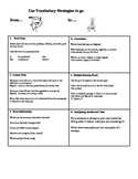 Vocabulary Strategy Handout:  The 6 Vocabulary Cheats!