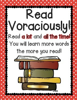Vocabulary Strategy Posters {9 colorful & informative posters} Polka Dot Edition