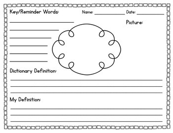 Vocabulary Strategy- Simple and Concise