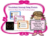 Vocabulary Strategy Song Posters