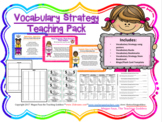 Vocabulary Strategy Teaching Pack