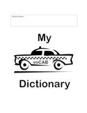 Vocabulary Student Dictionary