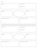 Vocabulary Study - Graphic Organizer