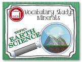 Vocabulary Study - Minerals
