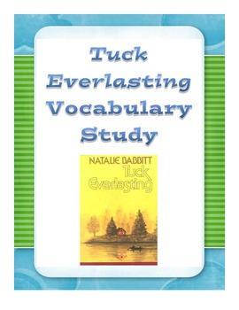 Vocabulary Study for Tuck Everlasting