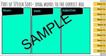 Vocabulary Study for any Unit- PowerPoint and Google Slides to use with GAFE