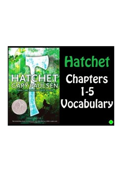 Hatchet by Gary Paulson PDF Vocabulary Slideshow