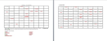 Vocabulary Sudoku : Careers/Jobs