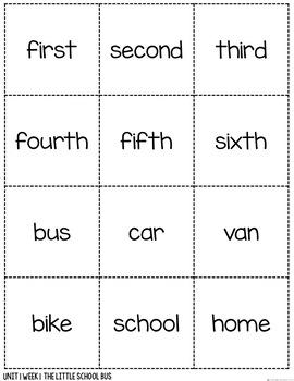 AMAZING WORDS Vocabulary Talks Kindergarten Unit 1