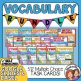 Vocabulary Task Cards: 16 Set Bundle