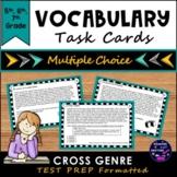 STAAR Prep Vocabulary Task Cards