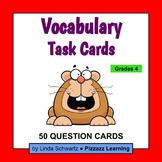 VOCABULARY TASK CARDS • Grade 4