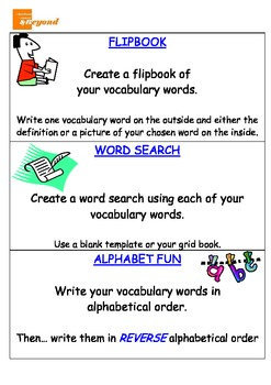 Vocabulary Task Cards - Spelling activities - Literacy centres - Reading groups