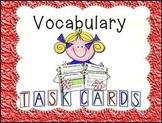 VOCABULARY TASK CARDS FOR GRADES 7-12