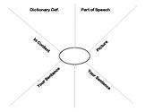 Vocabulary Template