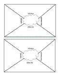 Vocabulary Template- Foldable Math