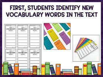 Vocabulary Activities (Printable & Digital)