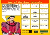 Vocabulary Terms Game - Absolute Monarchs - Bill Burton