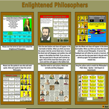Enlightened Philosophers Activities - Bill Burton